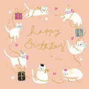 Cats Happy Birthday To You Birthday Card